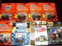 Nascar, match box ,hot wheels 1/64 scale and others