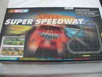Nascar Super Speedway Slot Car Set Nascar Racing on 24