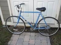 1983 Nashiki International, 23 inch Frame, Blue.