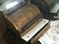 Real and authentic National cash register.  Complete
