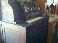 Antique cash register  - supposedly came from the