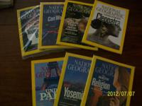NATIONAL GEOGRAPHIC 14 ISSUES 2010, 2011, 2012 Could