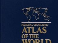 Vintage 1992, National Geographic-Altlas of the World,