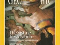 The classic issue on the Sistine Chapel Restoration in