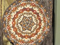 Weaving- beautiful handmade circular weaving done
