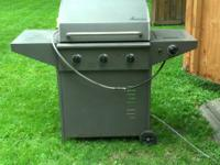 This is a NATURAL gas grill (Not Propane) that plugs