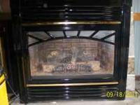Natural gas fire place insert Warnock The Estate Series