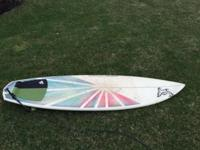 Nature shapes epoxy board with custom graphics jordy