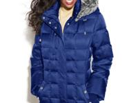 Fight the elements in style with Nautica's puffer