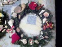 Beautiful nautical and holiday wreaths. The perfect