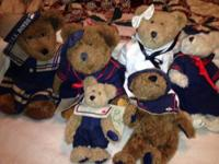 Nautical Boyd's Bear collection sold individually from