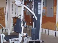 Nautilus commercial grade home gym multi-use unit.
