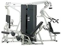 A multi-press station for chest press, incline press,