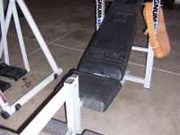 MAGNUM WEIGHTLIFTING BENCH - $50 does NOT include