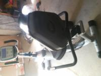 Nautilus R514 Recumbent Exercise Bike, great condition,