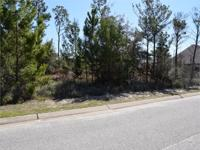 Residential lot located in Navarre, FL exclusive gated