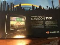 I have a brand new never used navigation gps 7100 still