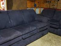 We are selling our VERY nice couch and love seat. Soft