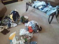big lot of super cute baby boy clothes. Some winter