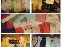 Carters brand and a few outfits from gymboree. No