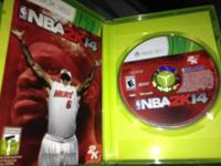 NBA 2k14 used but in perfect condition and still plays