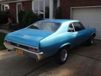 1972 Nova. Fresh paint. Complete brand new interior.