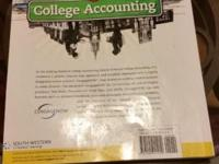College Accounting, Chapters 1-27 like new