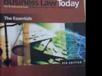 Business Law Today 9th Edition Miller -- Jentz ISBN-13: