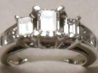 Beautiful CERTIFIED 2.5-carat TW 3-stone diamond ring