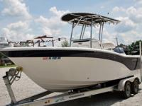 Up for sale is a pretty much like new 2013 Sea Fox 23