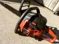 Excellent - {{Sears 16-In. Gas Chainsaw, W/Case}} -