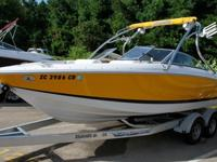 Nearly new 2008 Cobalt 202 bowrider for sale. This boat