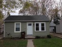 2 bedroom, 1 bath and nearly 800 sqft.! This single