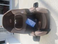 We sell a sparkling clean, nearly new car seat (used