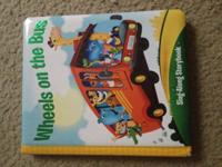 1. Wheels on the bus Sing-Along Storybook (Like new) 2.