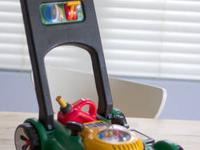 Little Tikes Gas 'n Go Mower has realistic mechanical