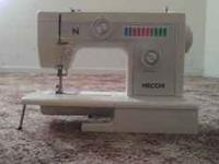 NECCHI SEWING MACHINE FOR SALE, ASKING 100 MAKE ME AN