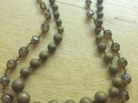 1920s Marie Haskell necklace 23 inches long ...2