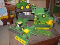 I have John Deere 6600, 7720, and 9510 combines, will
