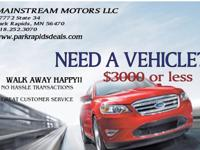 VISIT MAINSTREAM MOTORS LLC17772 STATE 34 PARK RAPIDS,