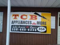 Come on out to TCB Appliances & More, 852 Portage Lakes