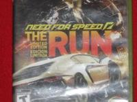 XBOX 360 -- NEED FOR SPEED THE RUN, LIMITED EDITION