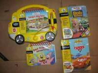 Leap Frog My 1st Leap Pad Bus & Books - Reuced Price