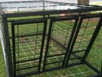 Catch more hogs with saloon doors for large pen/corral