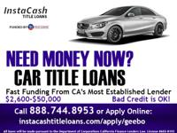 Car Title Loans are a Fast, Easy, and Convenient