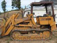 I am looking for bids to have a 850 Case track loader