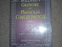 I have a book Grimoire Of Magickal Correspondences