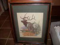 "PICTURE IS 17 1/2"" X 13 1/2"" INCLUDING FRAME. NICE"