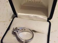 Neil Lane Bridal Ring 1 1/5 ct tw Diamonds 14K White