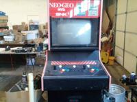NEO-GEO DOES NOT WORK correctly-- SOLD 'AS-IS' HAS
